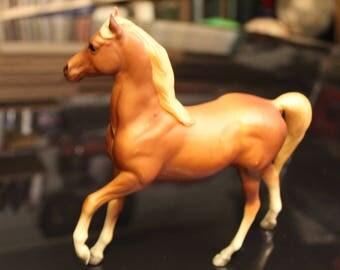 Breyer horse-Arabian stallion by Maureen Love//1973//mold#3055 st-classical size