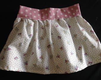Organic cotton birds skirt