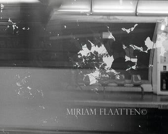 Paris Subway, Fine Art Print, Film Photography