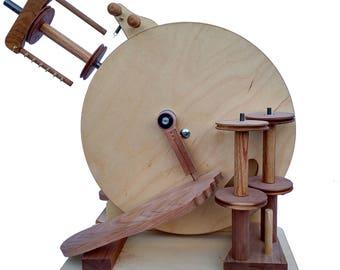 Merlin Tree RoadBug Double Treadle Spinning Wheel