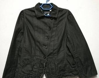 Vintage Sonia Rykiel Denim Jacket Women Size
