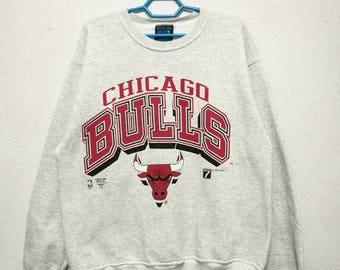 Vintage 90s 1993 Chicago Bulls NBA Basketball Jordan Sweater Sweatshirt