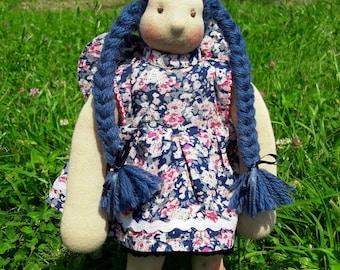 "Emma - 12"" Waldorf Inspired Doll, ECO, Handmade"