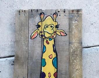 Jude the Giraffe