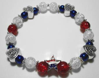 Freedom Beaded Bracelet