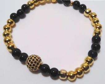 Charming Beaded Bracelet
