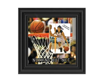 Basketball Picture frame, Great Team Gift Ideas or Gifts for Coaches Basketball, 10X10 9712