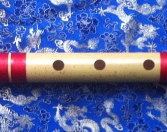 Flute / Bansuri - Professional Bamboo Flute - G Bass - Hand Made In Nepal