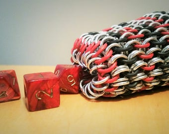 Chainmail Dice Bag, D&D Bag