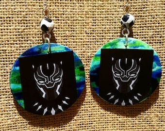 Marvel Black Panther earrings