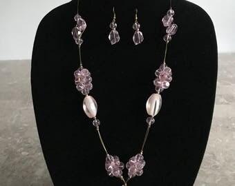 Cherry Quartz Jewelry Set