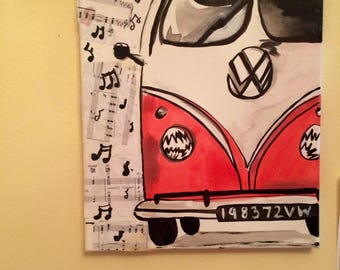 Volkswagon painting