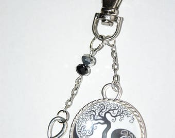 """Keychain cabochon 30 mm """"tree of life"""""""