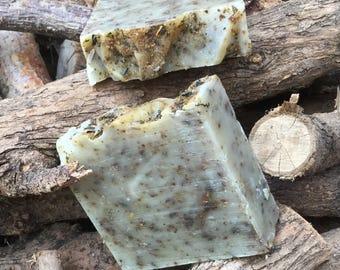Nettle Oil Soap/ Wound Healing/ Dry Skin Soap