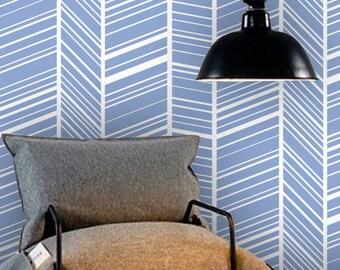Removable wallpaper/Wallpaper/Peel and Stick/Self adhesive wallpaper/Temporary wallpaper /Modern Wallpaper /Geometric  patern A027A