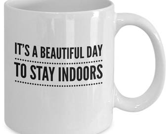Introverts Coffee Mug - Gift for Introverts - Introverts Cup - Funny Introverts Present - Best Introverts Gift