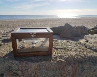 Beach Scene Jewelry Box