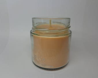 Vegetable soy wax scented candle mambo mambo.