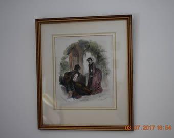 France - 19th century gravure