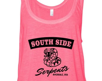 Riverdale / South Side Serpents Cropped Tank