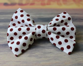 Think Happy Dots Bow Tie