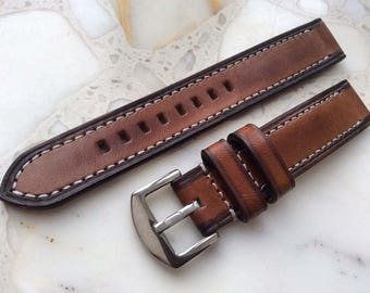 Watch band 20 mm | Vegetable tanned Genuine leather watch band (replacement straps) 20 mm