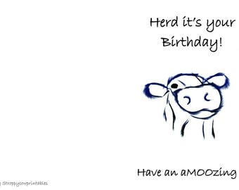 Herd it's your Birthday!