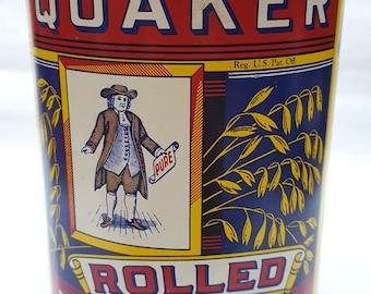 QUAKER OATS collector tin