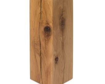 Dekosäule Solid wood pedestal pillar tree