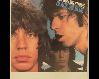 Rolling Stones 1976 Black And Blue European 20-Page Tour Program