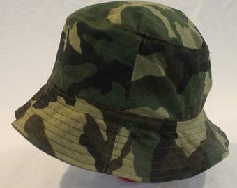 Toddler's Reversible Bucket Hat