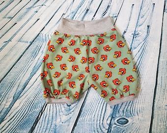 Shorts * Gr. 74/80 * bloomers - Mitwachsen pants * guys * children