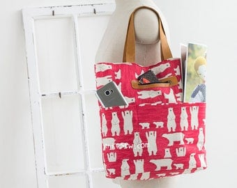1130 Ayana Tote Bag PDF Sewing Pattern