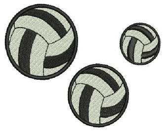 NeedleUp - Volley Ball Set embroidery designs