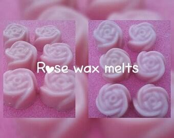Rose shaped mini melts (12)