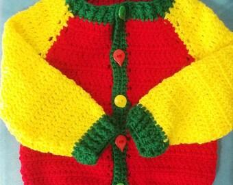 Chunky Knit Children's Cardigan