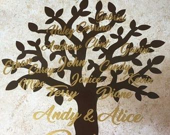 Family tree tile