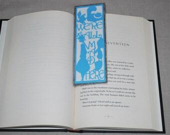 Alice in Wonderland Theme Bookmark