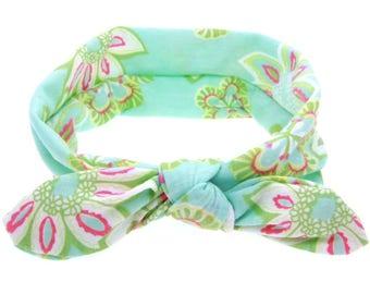 Coastal Blue Floral Headband
