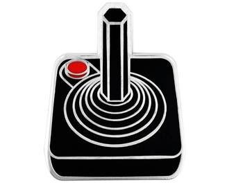 PinMart's Original Atari Joystick Gaming Enamel Lapel Pin