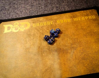 Dungeons and Dragons Dice Mat