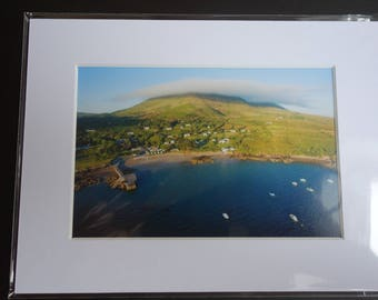 Photo of Kells Bay, Caherciveen, Co. Kerry 6x4 Photo in an 8x6 Photo Mount
