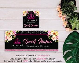 Paparazzi Facebook Cover, Custom Paparazzi Facebook Banner, Paparazzi Pop-UP, Free Personalization, POP-UP banner, Paparazzi Banner PP09