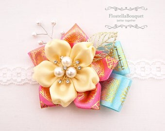 Korean Traditional Style, Weddings, Corsage, Boutonniere, Wristband, Wrist Corsage, Bride, Bridesmaid, Mother, Groom, Groomsmen, Father