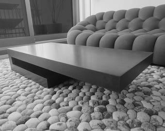 T6 concretable coffee table concrete