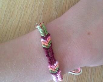 Chevron ladder bracelet 27cm