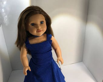 "Ball gown to fit 18"" dolls such as American Girl, Maplelea, My Life etc"
