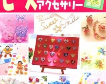 Bead Mascot Accessory - Japanese Craft Book - Used