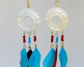 Dangle earrings also Earth