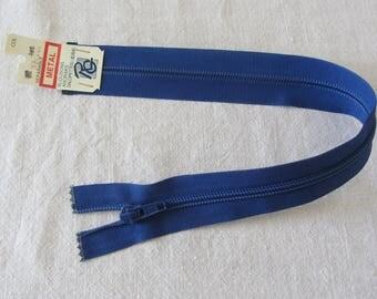 Zip up blue 37 cm